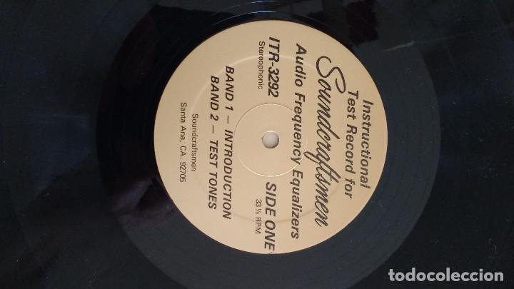 Música de colección: DISCO PARA TEST INSTRUMENTAL Y DE VOZ - Foto 3 - 118399651