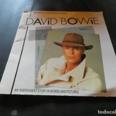 Música de colección: DAVID BOWIE THE ILLUSTRATED ANABAS BIOGRAPHY LIBRO EN INGLES 1984 MUCHAS FOTOS. Lote 118480047