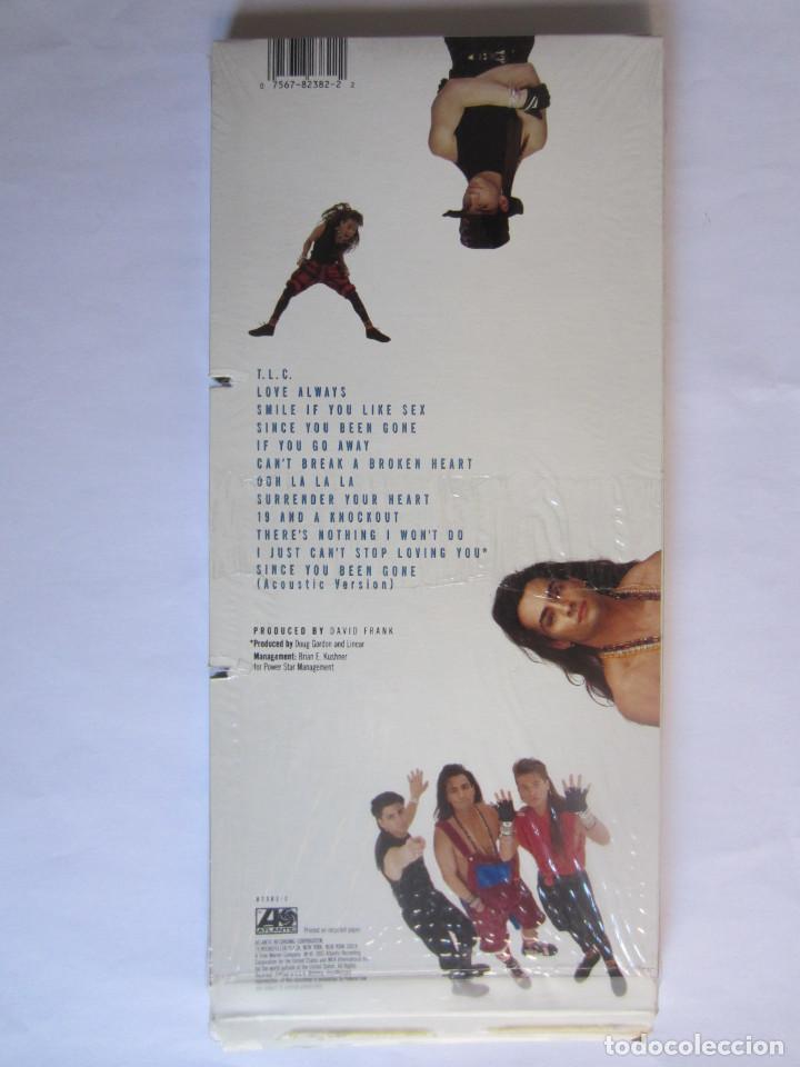 Música de colección: LINEAR - CAJA LARGA VACIA DE CARTON (SIN CD) (EMPTY LONG BOX) (NO CD) CAUGHT IN THE MIDDLE 1992 USA - Foto 2 - 118987795