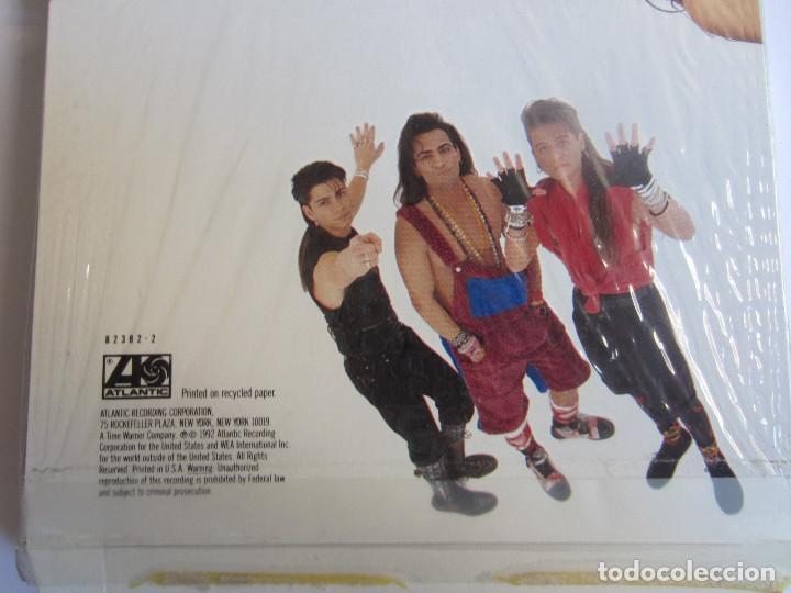 Música de colección: LINEAR - CAJA LARGA VACIA DE CARTON (SIN CD) (EMPTY LONG BOX) (NO CD) CAUGHT IN THE MIDDLE 1992 USA - Foto 3 - 118987795