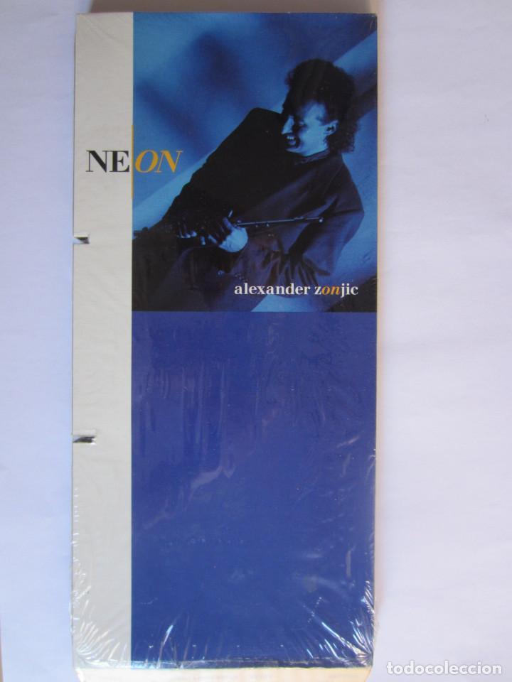 ALEXANDER ZONJIC (BOB JAMES) - CAJA LARGA VACIA DE CARTON (SIN CD) (EMPTY LONG BOX) NEON 1991 USA (Música - Varios)