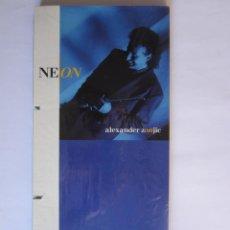 Música de colección: ALEXANDER ZONJIC (BOB JAMES) - CAJA LARGA VACIA DE CARTON (SIN CD) (EMPTY LONG BOX) NEON 1991 USA. Lote 118988343