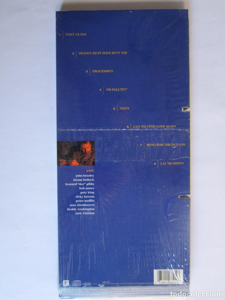 Música de colección: ALEXANDER ZONJIC (BOB JAMES) - CAJA LARGA VACIA DE CARTON (SIN CD) (EMPTY LONG BOX) NEON 1991 USA - Foto 2 - 118988343