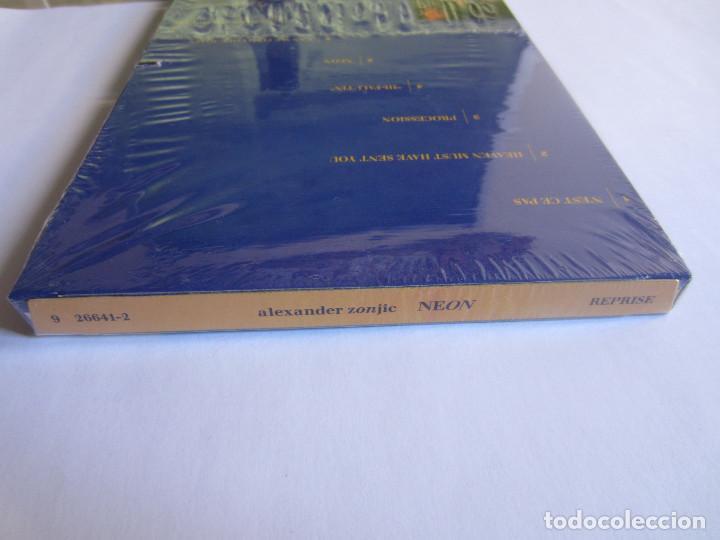 Música de colección: ALEXANDER ZONJIC (BOB JAMES) - CAJA LARGA VACIA DE CARTON (SIN CD) (EMPTY LONG BOX) NEON 1991 USA - Foto 6 - 118988343