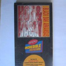 Música de colección: BLACK OAK ARKANSAS - CAJA LARGA VACIA (SIN CD) (EMPTY LONG BOX) HOT & NASTY: THE BEST OF 1987 USA. Lote 118992855