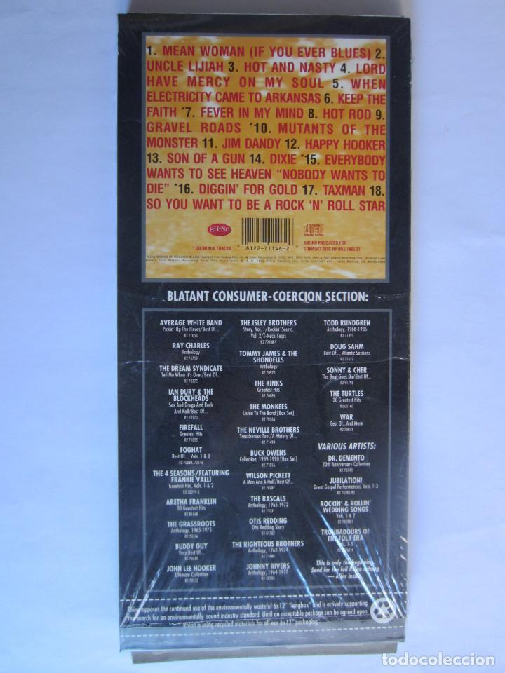 Música de colección: BLACK OAK ARKANSAS - CAJA LARGA VACIA (SIN CD) (EMPTY LONG BOX) HOT & NASTY: THE BEST OF 1987 USA - Foto 2 - 118992855