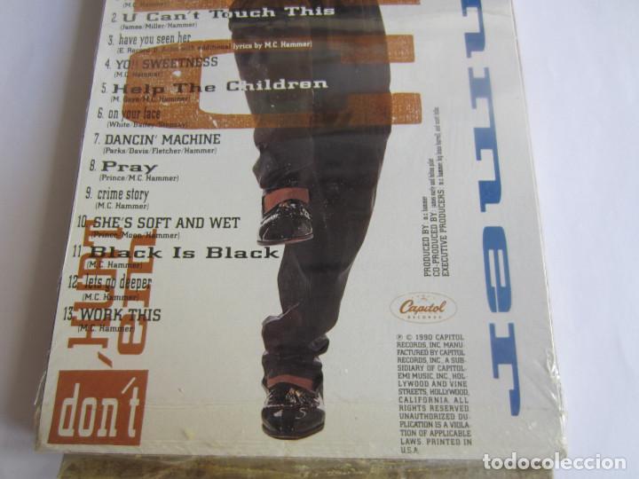Música de colección: M.C. HAMMER - CAJA LARGA VACIA CARTON (SIN CD) (EMPTY LONG BOX) PLEASE HAMMER DONT HURT EM 1990 USA - Foto 3 - 119167759