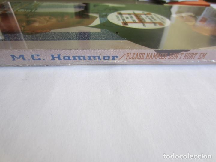 Música de colección: M.C. HAMMER - CAJA LARGA VACIA CARTON (SIN CD) (EMPTY LONG BOX) PLEASE HAMMER DONT HURT EM 1990 USA - Foto 4 - 119167759