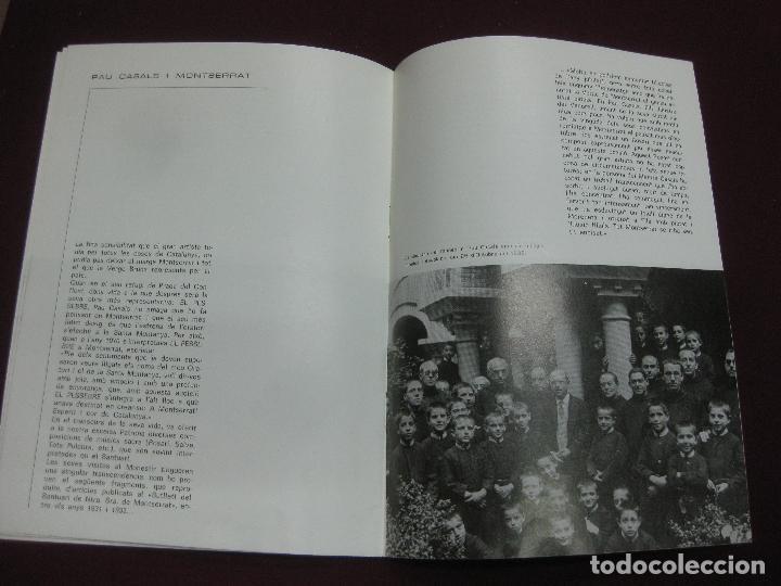 Música de colección: PROGRAMA CONCERT - HOMENATGE A PAU CASALS. ESCOLANIA DE MONTSERRAT. TEATRE TIVOLI DEL VENDRELL. 1974 - Foto 4 - 119968088
