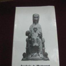 Música de colección: PROGRAMA CONCIERTOS ESCOLANIA DE MONTSERRAT EN BELGICA.. Lote 119960991