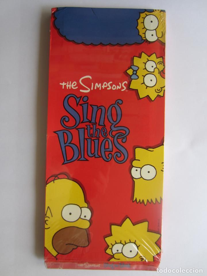 THE SIMPSONS - CAJA LARGA VACIA (SIN CD) (EMPTY LONG BOX) SING THE BLUES 1990 USA (Música - Varios)