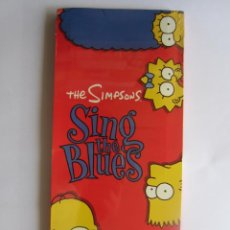 Música de colección: THE SIMPSONS - CAJA LARGA VACIA (SIN CD) (EMPTY LONG BOX) SING THE BLUES 1990 USA. Lote 120033691