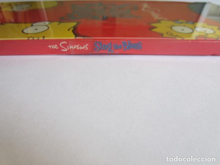 Música de colección: THE SIMPSONS - CAJA LARGA VACIA (SIN CD) (EMPTY LONG BOX) SING THE BLUES 1990 USA - Foto 3 - 120033691