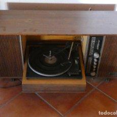 Música de colección: MUEBLE TOCADISCOS COMPAÑIA ELECTRICA ESPAÑOLA AÑOS 50, ALTAVOCES 78 RPM GRAMOFONO. Lote 120599775
