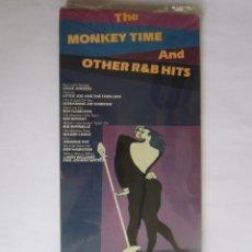 Música de colección: THE MONKEY TIME AND OTHER R&B HITS - CAJA LARGA VACIA DE CARTON (SIN CD) (EMPTY LONG BOX) I 1991 USA. Lote 121562799
