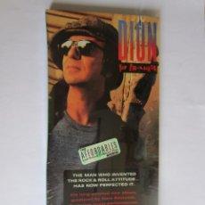 Música de colección: DION - CAJA LARGA VACIA DE CARTON (SIN CD) LONG CARTON EMPTY BOX (NO CD) YO FRANKIE 1989 USA. Lote 121562971