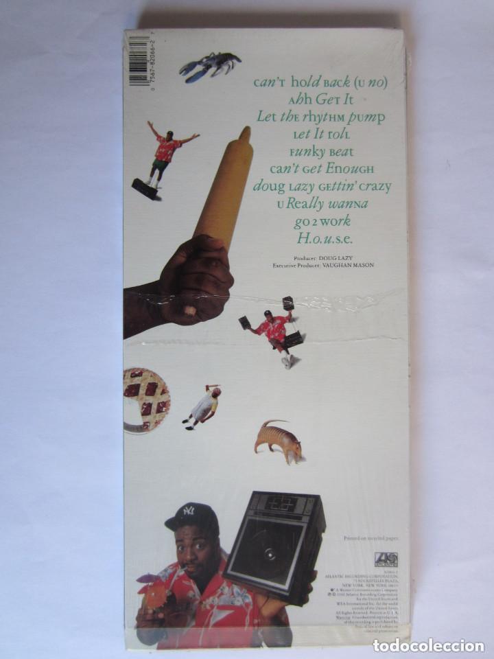 Música de colección: DOUG LAZY - CAJA LARGA VACIA DE CARTON (SIN CD) LONG CARTON EMPTY BOX (NO CD) GETTIN CRAZY 1990 USA - Foto 2 - 121593239