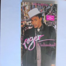 Música de colección: ROGER - CAJA LARGA VACIA DE CARTON (SIN CD) LONG CARTON EMPTY BOX (NO CD) UNLIMITED! 1987 USA. Lote 121593743