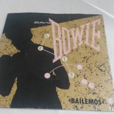 Música de colección: DISCO DAVID BOWIE BAILEMOS. Lote 121885379