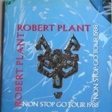 Música de colección: ROBERT PLANT. PROGRAMA TOUR DE 1988. ORIGINAL U.K.. Lote 125136599