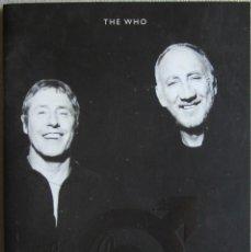 Música de colección: WHO, THE. PROGRAMA TOUR DE 2006. ORIGINAL U.K.. Lote 125136851