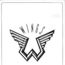 Música de colección: PAUL MCCARTNEY (WINGS). PROGRAMA TOUR DE 1975. ORIGINAL U.K.. Lote 125150467