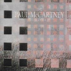 Música de colección: PAUL MCCARTNEY: THE PAUL MCCARTNEY WORLK TOUR. PROGRAMA TOUR DE 1989. ORIGINAL U.K.. Lote 125151083