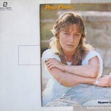 Música de colección: MARISOL (PEPA FLORES): DOSSIER PROMOCIONAL PARA EL LP CLIMA DE 1983. Lote 125153967