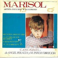 Música de colección: MARISOL: SILENCIO CABALLO MÍO. CUATRICROMÍA, PRUEBA DE COLOR. 7 PÁGINAS. Lote 125191347