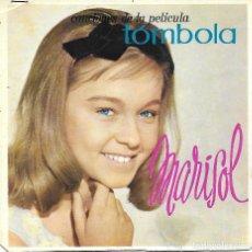 Música de colección: MARISOL: LOBO, LOBITO (DE LA PELÍCULA TÓMBOLA). CUATRICROMÍA, PRUEBA DE COLOR. 7 PÁGINAS. Lote 125192091