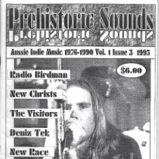 Música de colección: PREHISTORIC SOUNDS Nº 3. FANZINE MUSICAL DE 1995. ORIGINAL AUSTRALIA 72 PÁGINAS. EN INGLÉS. Lote 125226667