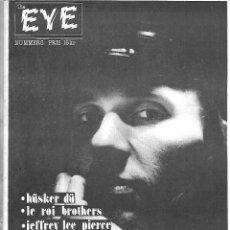 Música de colección: EYE Nº 5. FANZINE MUSICAL DE 1986. ORIGINAL SUECIA. 28 PÁGINAS. EN SUECO. Lote 125235755