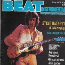 Música de colección: BEAT INSTRUMENTAL Nº 140. REVISTA MUSICAL DE JUNIO DE 1978. ORIGINAL U.K. 104 PÁGINAS. EN INGLÉS. Lote 125236483