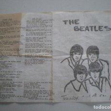 Música de colección: THE BEATLES // EXTRAÑO PAPEL AÑOS 70 //. Lote 125761979