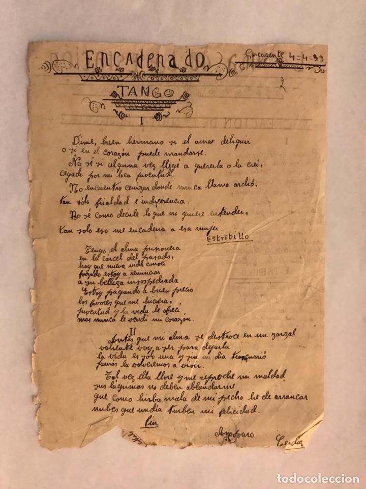 Música de colección: CARCAGENTE. LA NIÑA DE LA ESTACIÓN. Bonita reproducción escrita por una cantante local (1933) - Foto 2 - 126732220