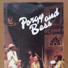 Música de colección: PROGRAMA PORGY AND BESS NEW YORK HARLEM OPERA ENSEMBLE TEXTO EN INGLES. Lote 127193583
