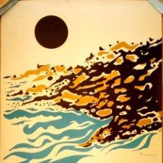 Música de colección: CARTEL ORIGINAL,PRIMER FESTIVAL INTERNACIONAL DE MUSICA DE CADAQUES,AGOSTO AÑO 1970,COSTA BRAVA,UNIC. Lote 128498023