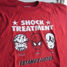 Música de colección: SHOCK TREATMENT - CAMISETA OFICIAL NO TOMORROW AÑOS 90 - TALLA L - USADA EN BUEN ESTADO.. Lote 128781611