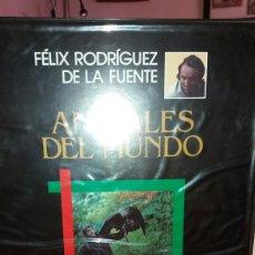 Música de colección: COLECCIÓN DE 8 CINTAS DE VÍDEO DE FÉLIX RODRÍGUEZ DE LA FUENTE. Lote 128956379