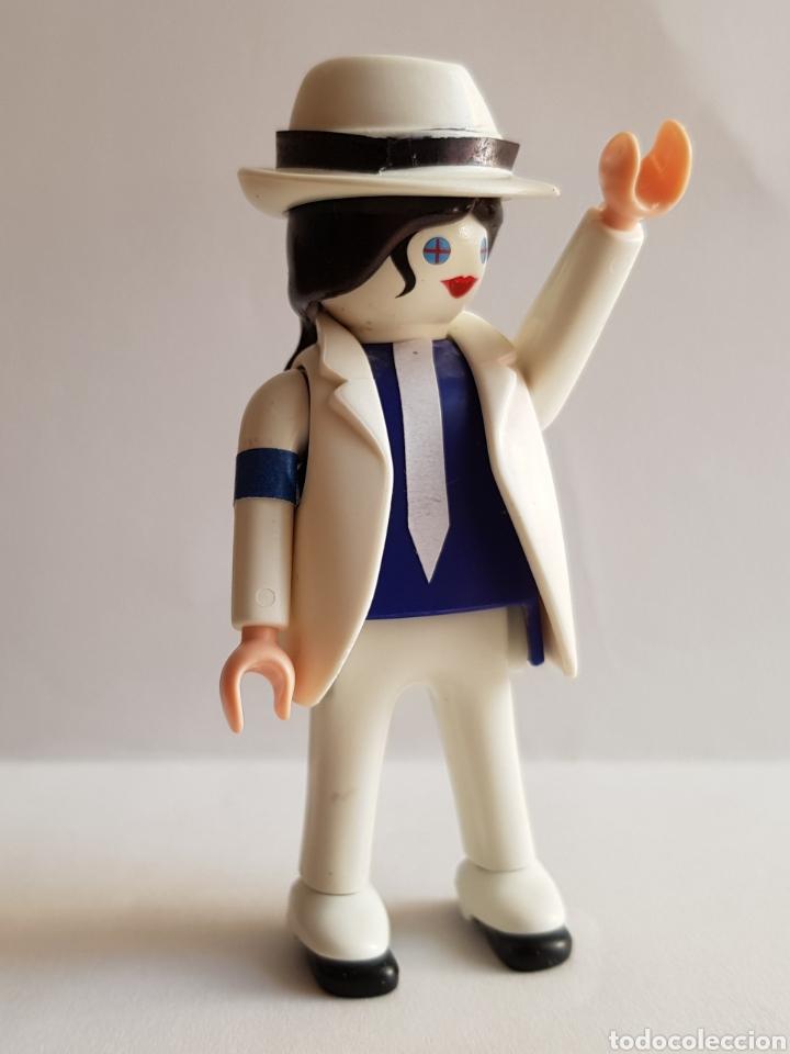Música de colección: 1 PLAYMOBIL MICHAEL JACKSON SMOOTH CRIMINAL - Foto 2 - 178360312
