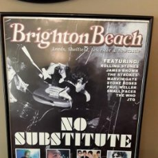 Música de colección: BRIGTHON BEACH - ROLING STONES JAMES BROW, THE WHO, THE STROKES, MARVIN GAYE, STONE ROSES, POUL W.... Lote 131805034
