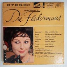 Música de colección: CINTA MAGNÉTICA - DIE FLEDERMAUS. Lote 132234979