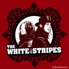 Música de colección: THE WHITE STRIPES CAMISETA. Lote 132651410