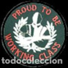 Música de colección: PROUD TO BE WORKING CLASS - LOGO - PAR. Lote 133110019
