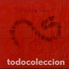 Música de colección: VARIOUS - DEADLY SINS - 4X7 INCH BOX SET - CATHARSIS / DAMAD / MK ULTRA / UNRUH / THE BLACK HAND /. Lote 133110905