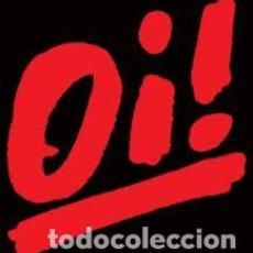 Música de colección: OI! - ESPALDERA 20X20 CM. - LOGO - PAR. Lote 133133275