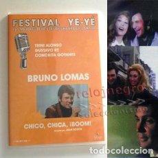 Música de colección: CHICO CHICA BOOM ! DVD PELÍCULA BRUNO LOMAS CANTANTE DE MÚSICA TRINI ALONSO CONCURSO MUSICAL DIFÍCIL. Lote 133883258