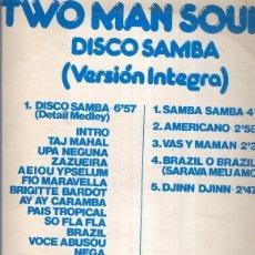Música de colección: DISCO LP: TWO MAND SOUND (DISCO SAMBA). Lote 133982805