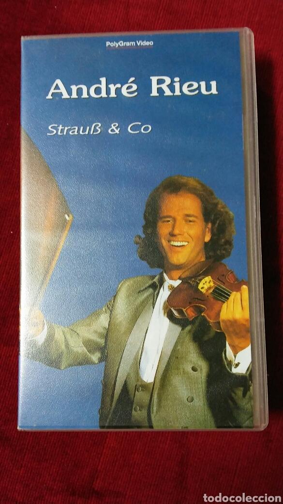 ANDRÉ RIEU. VHS (Música - Varios)