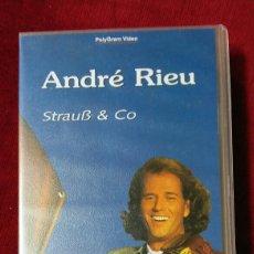 Música de colección: ANDRÉ RIEU. VHS. Lote 134296082